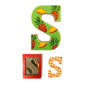 Chocolate Letter Own Design