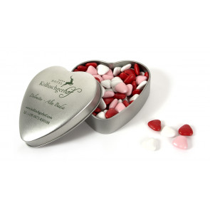 Chocolate Heart-Shaped Tin XL