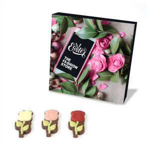 Giftbox Chocolate roses - 120 g