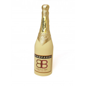 Personalised champaign bottle